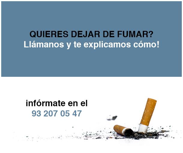 ESP - ¿quieres dejar de fumar